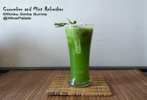 Cucumber and Mint Refresher